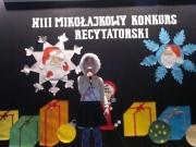 Grupa VIII - 04.12.2014 - Mikołajkowy Konkurs recytatorski w Grębocicach