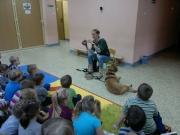 Grupa VIII - 27.11.2014 - Spotkanie z psem BERG i opiekunem zwierząt ze schroniska